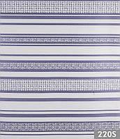 Мебельная велюровая ткань Премиум страйп 220S