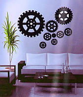 Объемные часы - наклейка Механизм