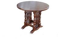 Стол кухня раскладной (массив дерева) Бавария-03 850(1150)х850х750 мм