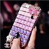 """Sony Z3+ DS E6533 оригинальный чехол со стразами камнями мехом для телефона """"LUXURY PRIVILEGE"""", фото 5"""