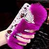"""Sony Z3+ DS E6533 оригинальный чехол со стразами камнями мехом для телефона """"LUXURY PRIVILEGE"""", фото 7"""