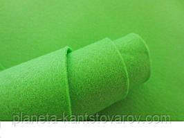 Фетр светло-зеленый 20 листов (1мм/20см х 30см)7724