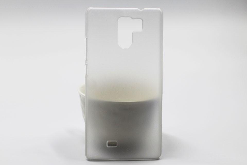 Чехол бампер для Umi Fair белый прозрачный