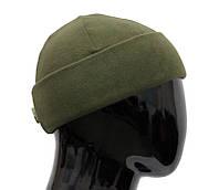 Шапка тактическая нанофлисовая Camo-Tec - Олива, фото 1