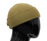 Шапка тактическая нанофлисовая Camo-Tec - Койот, фото 1