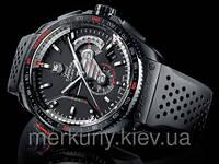 Классические стильные кварцевые наручные мужские часы TAG Heuer Grand Carrera Calibre 36 RS (Гранд каррера)