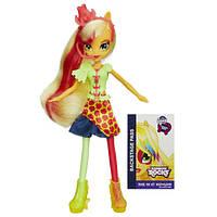 My Little Pony Девочки Эквестрии Эппл Джек Радужный рок Equestria Girls Applejack Doll Rainbow Rocks
