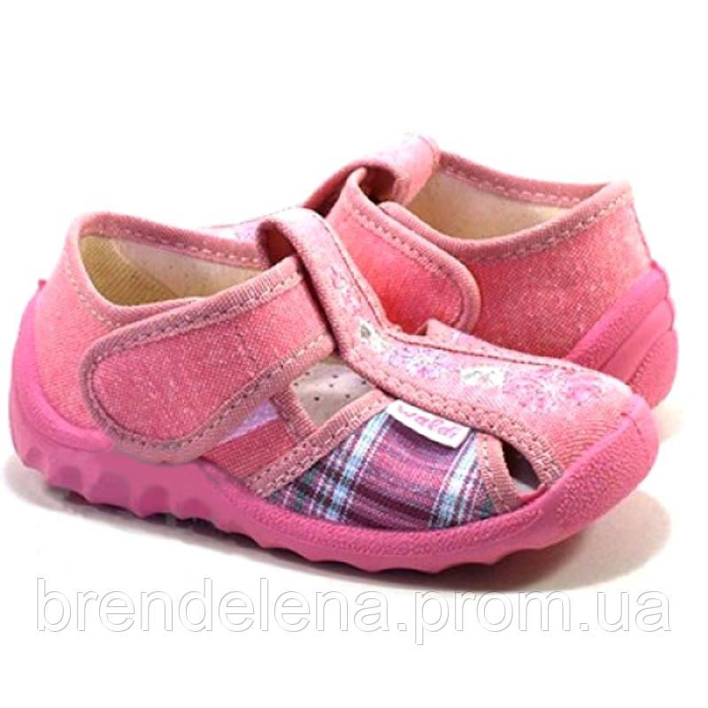 Детские кеды-тапочки для девочки (р21-27) Код 9341-00