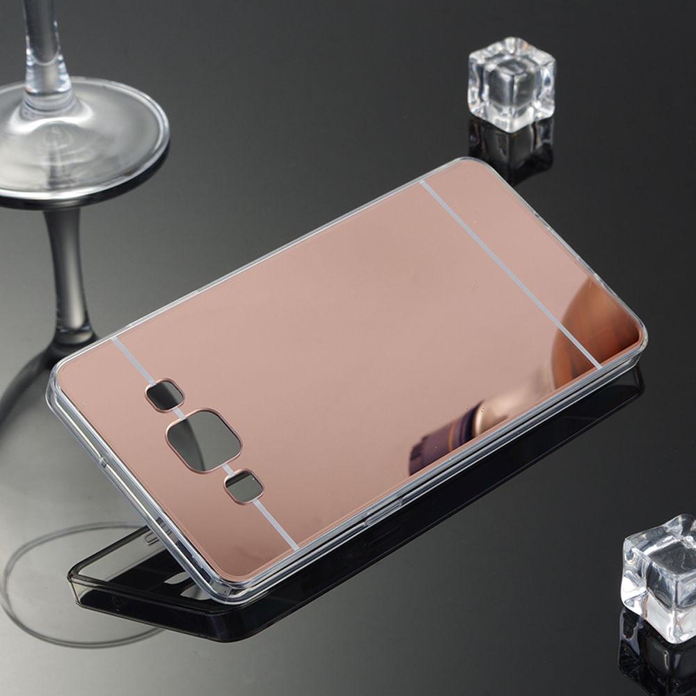 Силиконовый чехол для Samsung Galaxy J7 J700 зеркальный, G86