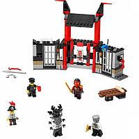 Конструктор Bela Ninja 10522 «Побег из тюрьмы Криптариум», 241 деталь, 5 фигурок, катапульта, карта