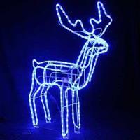 Светодиодный Новогодний LED Олень - двигается голова  - светящейся фигурка оленя