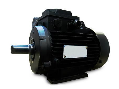 Однофазный электродвигатель АИРЕ 100 S4 (2,2 кВт, 1500 об/мин), фото 2