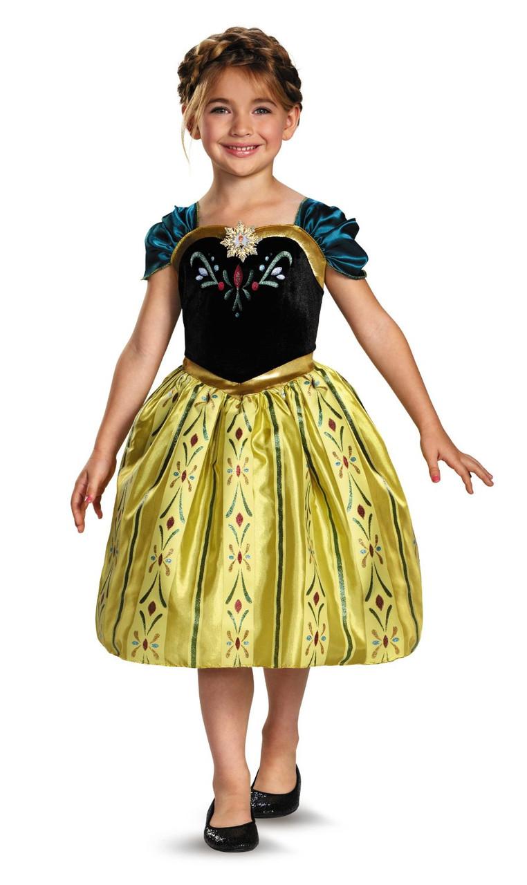 2b66676fb9999cb Карнавальный костюм принцесса Анна Холодное сердце День коронации Frozen  Anna Coronation Gown 7-8 лет