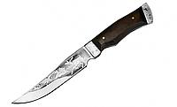 """Нож охотничий """"Лось"""", с рисунком, чехол, ножи для охоты"""