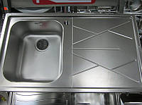 Мойка из нержавеющей стали Smeg (Apell Ouverture) 510мм х 870мм, фото 1