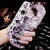 """Samsung Galaxy S4 i9500 оригинальный чехол со стразами камнями мехом для телефона """"LUXURY PRIVILEGE"""", фото 10"""