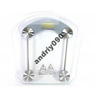 Весы напольные стеклянные (квадратнные) на 150 кг