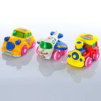 Набор машинок PVC 061 ABC Funny Toys