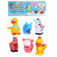 Набор игрушек ― пищалок животные 18003-6 Metr+