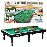 Детская игра Бильярд 2 в 1 9038 Let's Sport