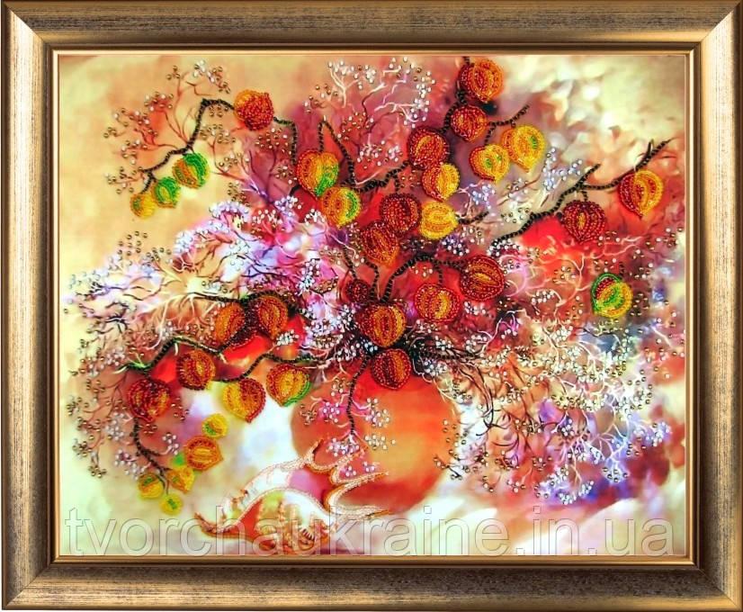 """Набор для вышивки бисером """"Осенние фонарики"""""""