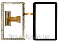 """Тачскрін (сенсор) №024 для планшета 10.1"""" iNomi C10102 GT10PGX10 247mm * 156mm 30pin Black"""