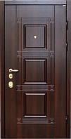 Двери  входные Квадро Венге южное ВИП+стандарт (две трубы, квартира)