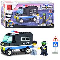 Детский конструктор Полицейская серия 457799/126 Brick