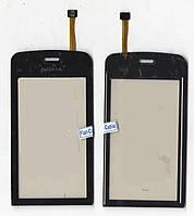 Сенсор Nokia C5-03 чёрный (качественная копия)