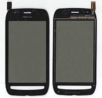 Сенсор Nokia Lumia 710 чёрный (оригинальный)