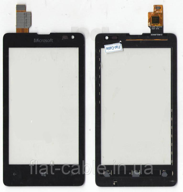 Сенсор Microsoft Lumia 435 / Microsoft Lumia 532 (Nokia) Dual Sim Black Original