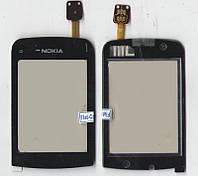 Сенсор Nokia C2-03/C2-06 чёрный (качественная копия)