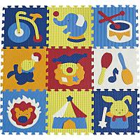 Детский игровой коврик-пазл «Удивительный цирк» GB-M129С Baby Great