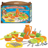 """Игровой набор игрушечной посуды """"Кухонный набор 4"""" 3275 Технок"""