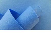 Фетр голубой 20 листов (1мм/20см х 30см)7729