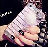 """Samsung A3 A300H оригинальный чехол со стразами камнями мехом для телефона """"LUXURY PRIVILEGE"""", фото 4"""