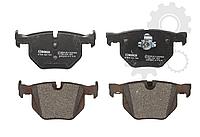 Комплект дисковых тормозных колодок BMW 5,6,X5,X6