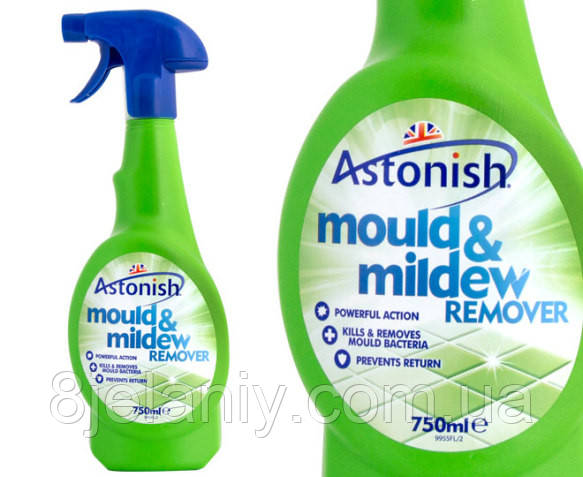 Средство для удаления плесени Astonish mould & mildew remover 750 мл