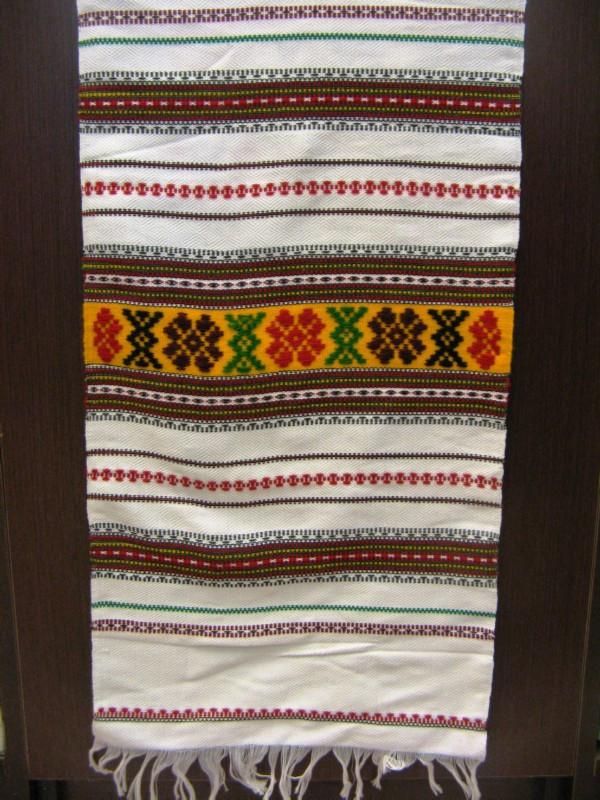 Весільний рушник тканий Р-22