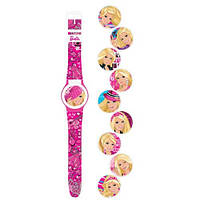 Детские часы «Barbie» с набором сменных панелей BBRJ15 Mattel