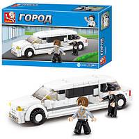 Конструктор серия Город: Лимузин M38-B0323 Sluban, 135 деталей