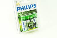 Аккумулятор PHILIPS AA R6 2100 mAh