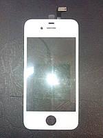 Сенсорный экран для Apple iPhone 4/ 4S белый Оригинал (TW)