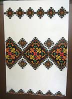 Весільний рушник нитками 11
