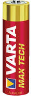 Батарейка Varta Max Tech Alkaline LR6 (АА), щелочная