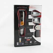 Профессиональная машинка для стрижки волос Kemei KM-580A 7в1, фото 3