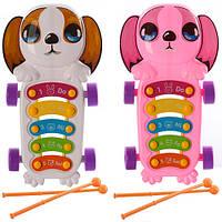 Детская музыкальная игрушка Ксилофон 8359