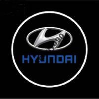 Дверной логотип LED LOGO HYUNDAI подсветка дверей