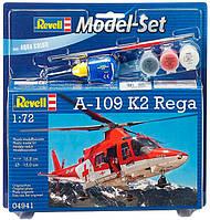 Модель для сборки Revell Вертолет A-109 K2 Rega (64941)