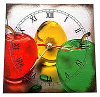 Яблоки часы для кухни